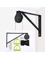 Polea de cuerda montado en la pared,cuerda elástica para rehabilitación de hombro(una
