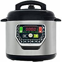 Ollas GM Modelo G, Robot de cocina programable multifunción, 90 Kpa, 19 menús, modo ECO, capacidad de hasta 6 litros
