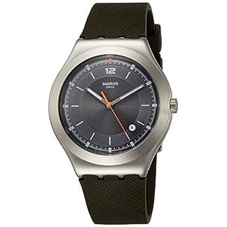 Swatch Reloj Analogico para Hombre de Cuarzo con Correa en Silicona YWS425