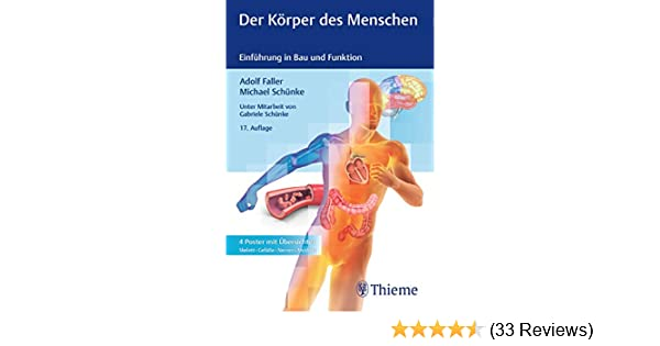Der Körper des Menschen: Einführung in Bau und Funktion eBook: Adolf ...