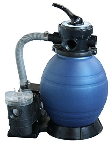 WelaSol Sandfilteranlage BETA TOP 300/6 / Filterkessel mit Pumpe für Schwimmbad bis max. 18m³ / Pool Filteranlage