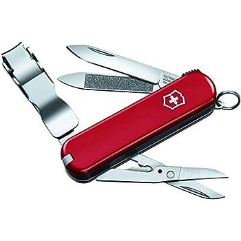 Victorinox - Conjunto de accesorios plegables de bolsillo (Nail Clip 580)