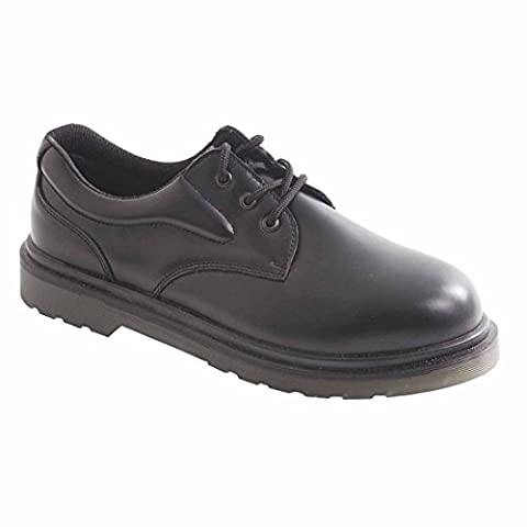 Portwest FW26BKR42 SB Size-8 Air Cushioned Safety Shoes - Black