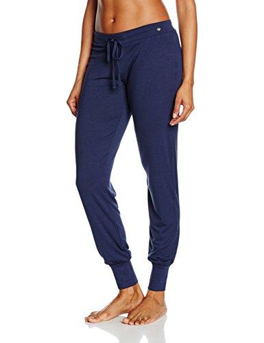 ESPRIT Bodywear Damen Schlafanzughose 996EF1Y900, Blau (Navy 400), 38 (38)
