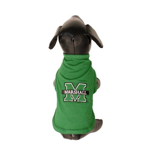 All Star Dogs NCAA Marshall Thundering Herd Tank Top für Hunde, Baumwolle/Lycra, Größe S