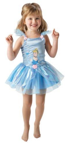 Disney Kinder Kostüm Cinderella Ballerina Gr.3 bis 4 (Kostüme Cinderella Kind Ballerina)