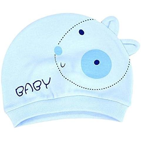 Koly - Bebé Beanie Sombrero, Niños Gorra de invierno cálido, algodón para bebé 0-3 mes (Perro,