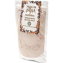 El orgullo de la India - Negro del Himalaya sal (sal negra), media libra