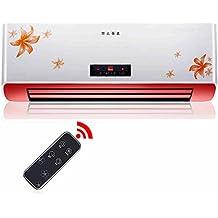 HAIZHEN Calefacción 2500W Calentador eléctrico digital  con control remoto  3 configuraciones de calor,  Termostato ajustable, Temporizador y funcionamiento silencioso  - Energía eficiente Use montado en la pared / libre de pie Ahorro de energía