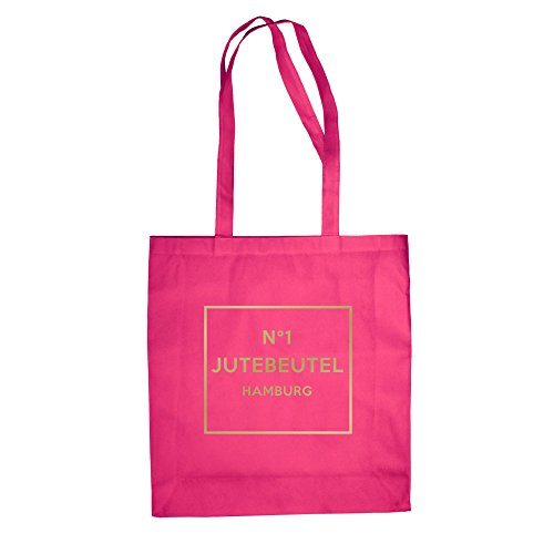 No1 - Juta Bag - Hamburg - Dal Reparto Camicia Fucsia-oro
