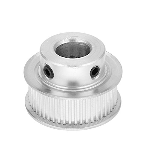 sourcingmap MXL 50 Zähne 16mm Bohrung 11mm Zahnriemenspannrolle Synchronscheibe Aluminium