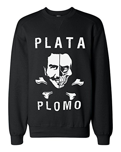 strange-plata-o-plomo-artwork-classic-sweatshirt-extra-large