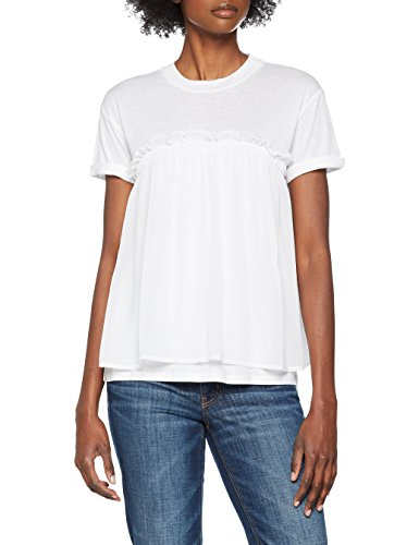BOSS Casual Damen T-Shirt Tercool Weiß (White 100)