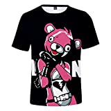Camiseta de Fortnite – Skin de Osito Rosa