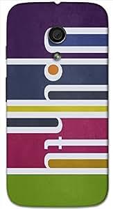 Marvelous 3D multicolor printed protective REBEL mobile back cover for MotoG-2 (2nd Gen ) - D.No-DEZ-2048-motog2