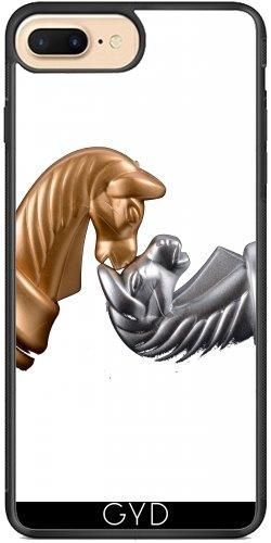 Funda de silicona para Iphone 7/7S Plus - Ajedrez Manía Juego Deportivo by WonderfulDreamPicture