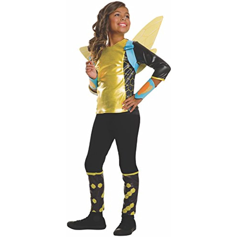 Rubie's Costume Kids DC Superhero Superhero Superhero Girls Deluxe Bumblebee Costume, Small 08393d