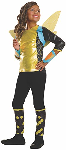 (Rubie's Costume Kids DC Superhero Girls Deluxe Bumblebee Costume, Small by Rubie's Costume Co)