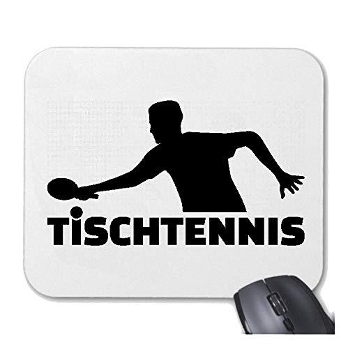 Helene Mousepad Mauspad Tischtennis - Tisch Tennis - PING Pong - TISCHTENNISBALL - TISCHTENNISSCHLÄGER für ihren Laptop, Notebook - Internet PC mit Windows
