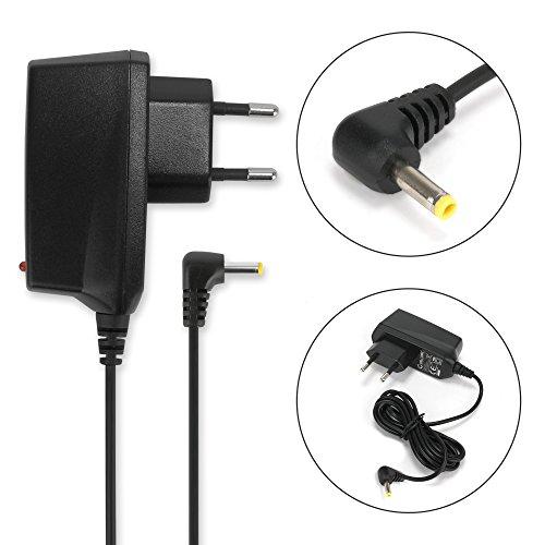subtel® Qualitäts Ladekabel - 1,20m (1A) für Sony PSP-1000 / 1004 / 2000 / 2004 / 3000 / 3004 / E1000 / E1004 (5V / 4.0mm x 1.7mm) Ladegerät Netzteil Charger