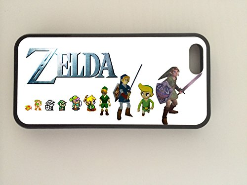 GPO Gruppe Exklusive Nintendo, klassisch, Zelda, Apple iPhone 5 Evolution des Zelda Design, iPhone 5s Phonecase Hartschale aus Gummi