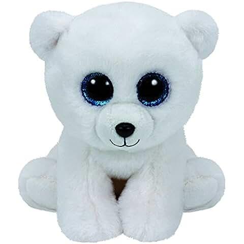 TY - Classics Arctic, oso polar de peluche, 15 cm, color blanco (42108TY)