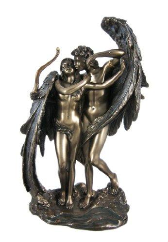 Amor und Psyche braunen Statue, Griechisch Mythologie Eros