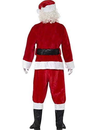 Plüsch Santa-Anzug Kostüm