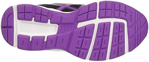 Asics Pre Galaxy 9 Ps, Chaussures de Running Entrainement Mixte Enfant, Noir Nero (Black/Orchid/White)