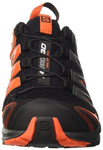 Salomon Herren Xa Pro 3d Traillaufschuhe Mehrfarbig (Black/magnet/flame)