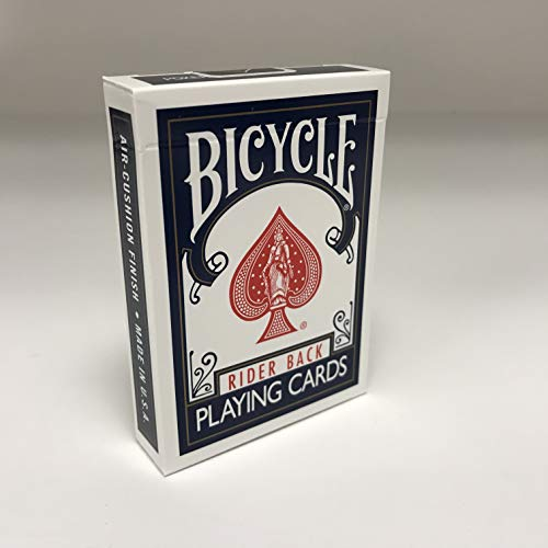 Bicycle 1005016 rider back index playing cards, carte da gioco, colori assortiti, 1 pezzo
