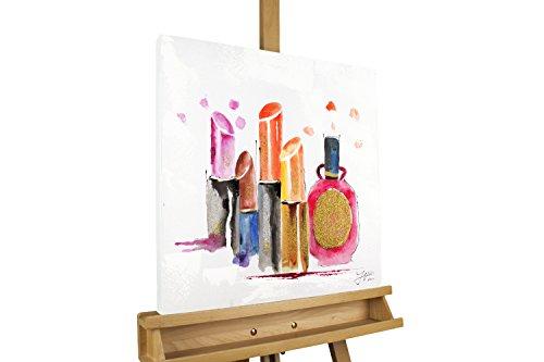 KunstLoft Acryl Gemälde 'Vor dem großen Auftritt' 50x50cm | original handgemalte Leinwand Bilder...