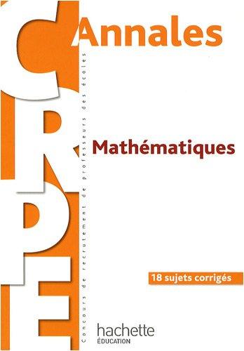 Annales Mathématiques