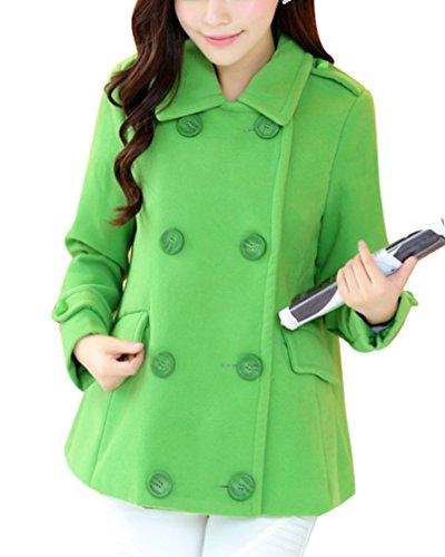 Yasong Damen Mantel Grün Grün 38