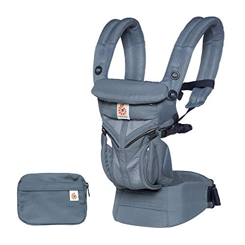 Ergobaby Babytrage Omni 360 Cool Air, Farben Ergobaby:Oxford Blue Air Oxford