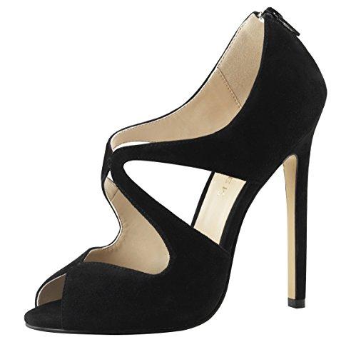 Heels-perfect, Sandales Pour Femmes Black (noir (noir))