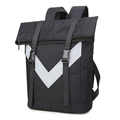 Imagen de eshow bolso de  multifuncional de tela de lona para hombres  de senderismo color negro alternativa