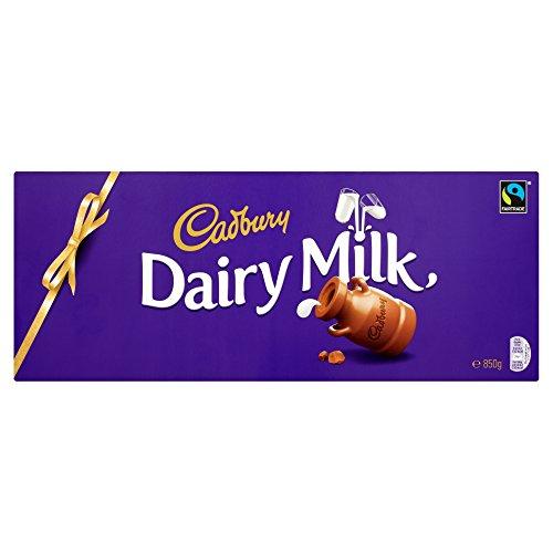 Cadbury Dairy Milk Chocolate Bar, 850 g