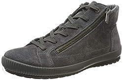 Legero Damen Tanaro Hohe Sneaker, Grau (Fumo (Grau) 22), 41 EU (7 UK)