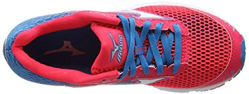Mizuno Wave Sayonara 3, Chaussures de Running Entrainement Femme Multicolore (Divapink/White/Atomicblue)