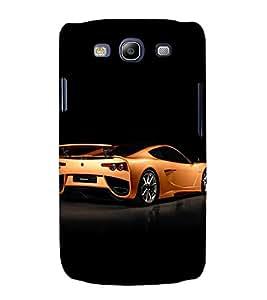 EPICCASE glittery ferrari Mobile Back Case Cover For Samsung Galaxy S3 (Designer Case)