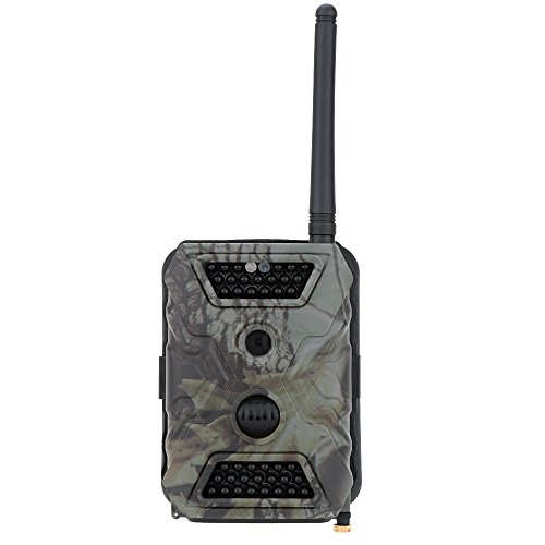 Produktbild Docooler MMS GPRS SMS Trail Spiel Wildlife Jagd Kamera 12MP HD Digitalkamera 940nm IR LED Video Recorder-Regen Beweis Pfadfinder
