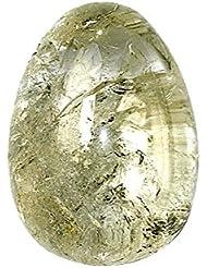 Oeuf cristal de roche 30 X 45 mm - la pièce