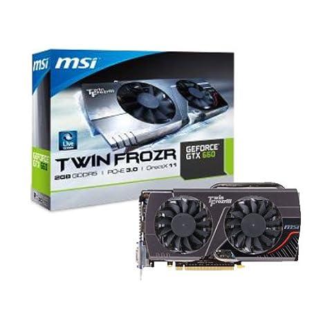 MSI N660 TWIN FROZEN 2GD5 Carte Graphique Nvidia Geforce GTX