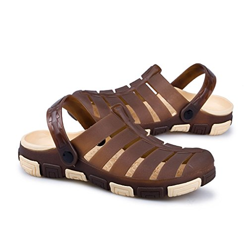 Hishoes - Sandali con Zeppa uomo Brown