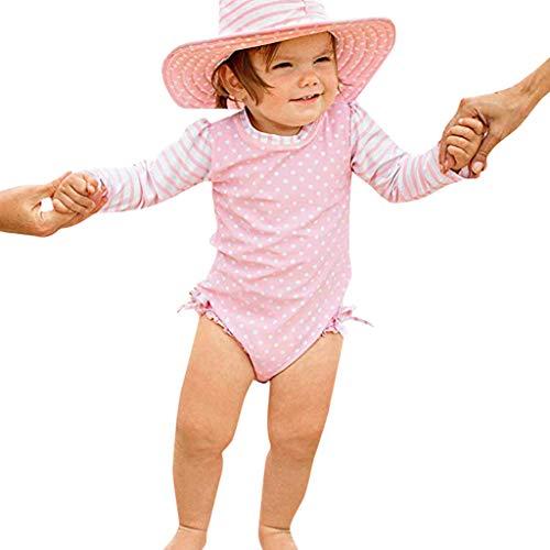 Bañador Protección Solar Traje de baño para Bebé Niñas, Bebes Niñas Infantil bañador de Natación...