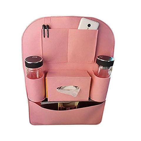 WJJ-Car Seat Back Organizer, große Kapazität Multi-Pocket Travel Storage Bag, einfach zu installieren und zu reinigen , princess powder