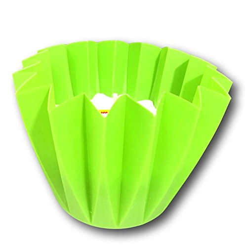 TAG Citronella Kerze Picknick Perfekte Kunststoff Cupcake Style Cup Halter, Lime Green