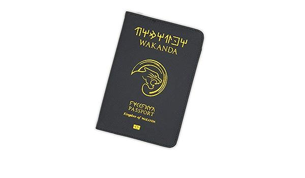 Royaume-Uni Porte-passeport etui housse Collection Marvel 7