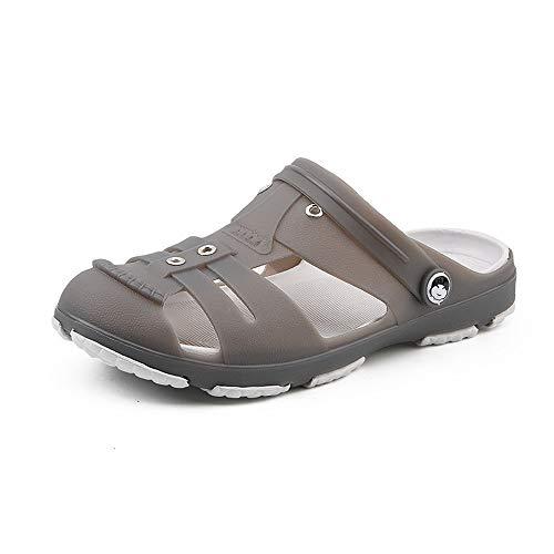 BSTLY Zapatos de agujero para Exteriores para Hombre Zapatos De VeranoSuela De Moda Sandalias